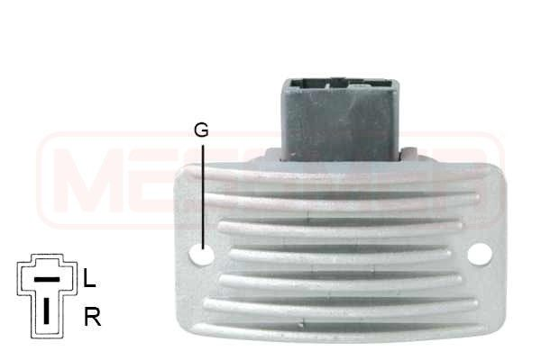 Regulador del alternador ERA 215993