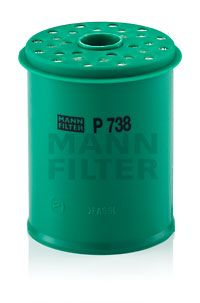 Filtre à carburant MANN-FILTER P 738 x